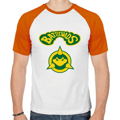 Мужская футболка реглан  Фото 01, Боевые Жабы