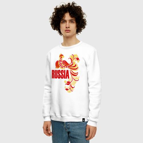 Мужской свитшот хлопок Россия Фото 01