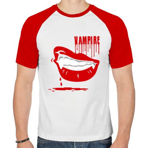Мужская футболка реглан  Фото 01, Вампир