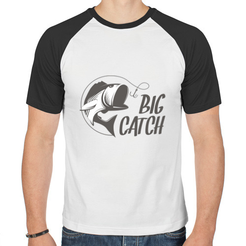 Мужская футболка реглан  Фото 01, Big catch