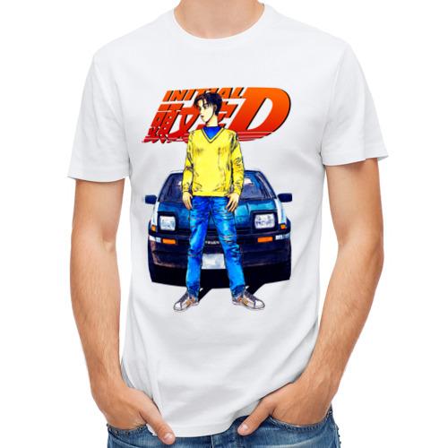 Мужская футболка полусинтетическая  Фото 01, Такуми & АЕ86