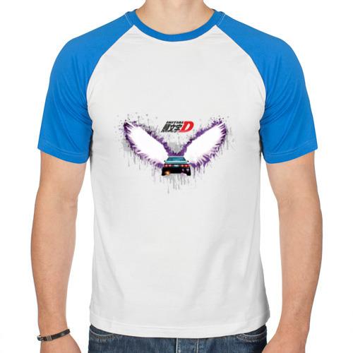 Мужская футболка реглан  Фото 01, Крылья 86ой