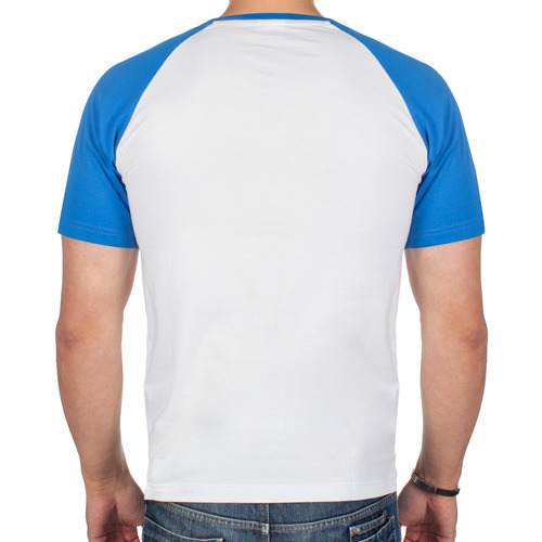 Мужская футболка реглан  Фото 02, Знатный монтажник