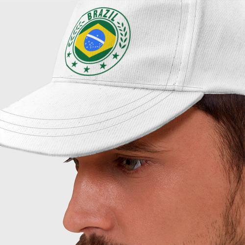 Бейсболка  Фото 01, Brazil - Бразилия ЧМ-2014