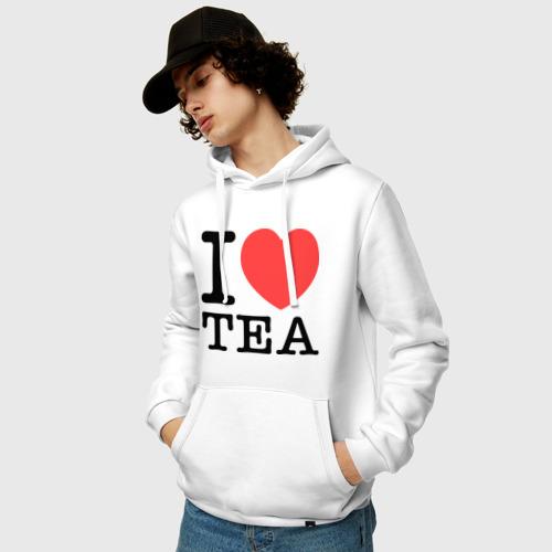 Мужская толстовка хлопок  Фото 03, I love tea