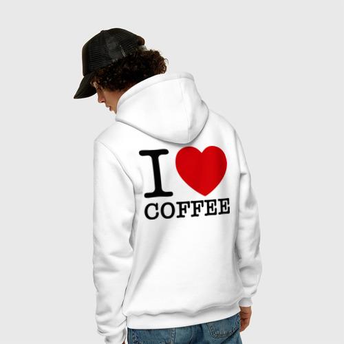 Мужская толстовка хлопок  Фото 04, I love coffee