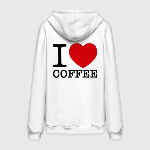 Мужская толстовка хлопок  Фото 02, I love coffee