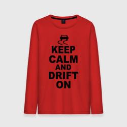 Keep calm and drift on
