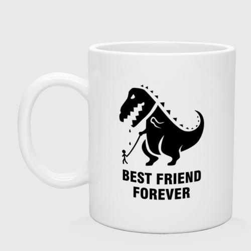 Кружка Годзилла Best friend