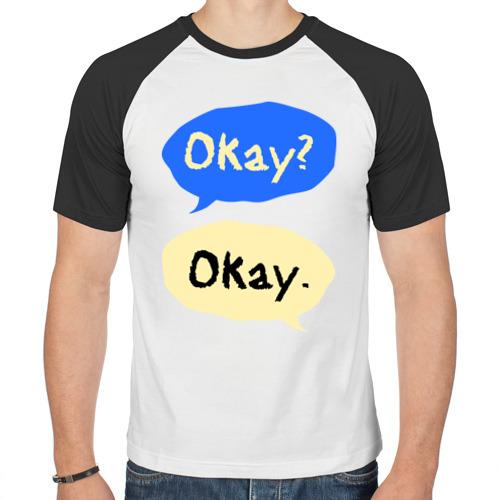 Мужская футболка реглан  Фото 01, Okay Виноваты звезды