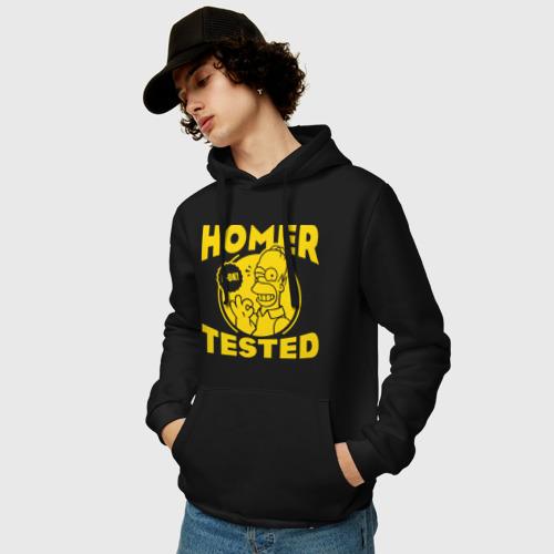 Мужская толстовка хлопок  Фото 03, Homer tested