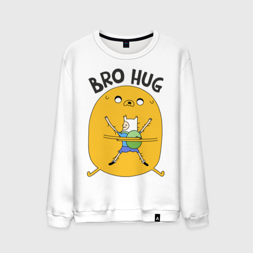 Мужской свитшот хлопок  Фото 01, Bro hug