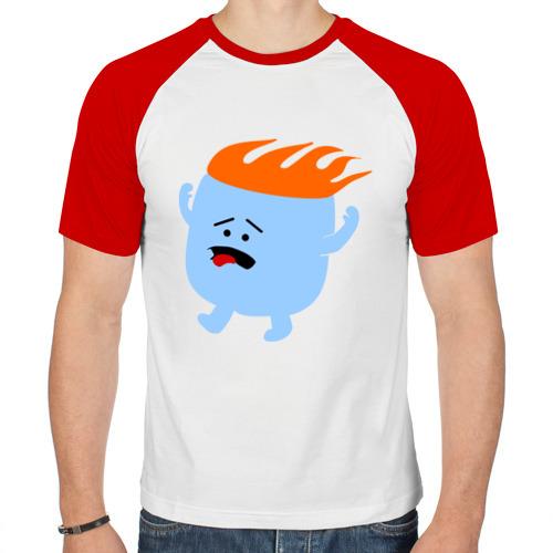 Мужская футболка реглан  Фото 01, Зефирка в огне