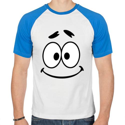 Мужская футболка реглан  Фото 01, Очень милый смайл