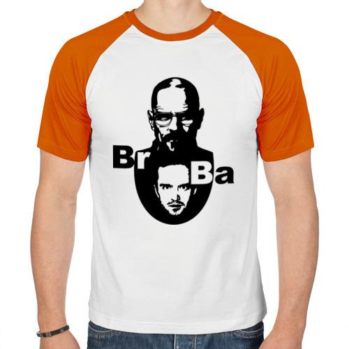 Мужская футболка реглан  Фото 01, Уайт и Пинкман