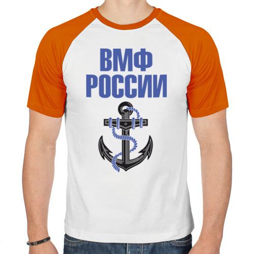 Мужская футболка реглан  Фото 01, ВМФ России