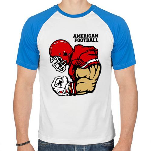Мужская футболка реглан  Фото 01, Американский футбол
