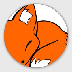 Спящий лисёнок