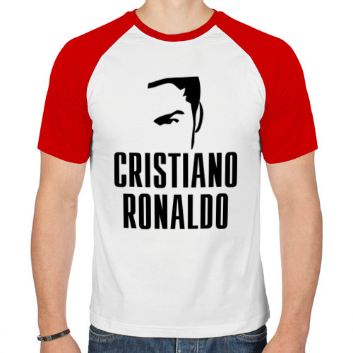 Мужская футболка реглан  Фото 01, Cristiano Ronaldo 7