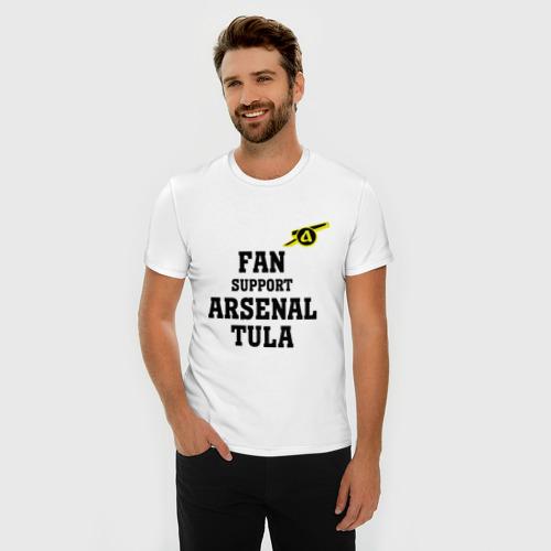 Мужская футболка премиум  Фото 03, Фк Арсенал Тула