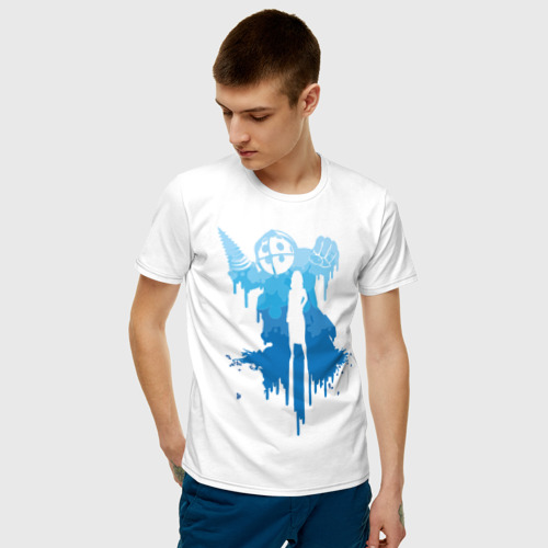 Мужская футболка хлопок Биошок Фото 01