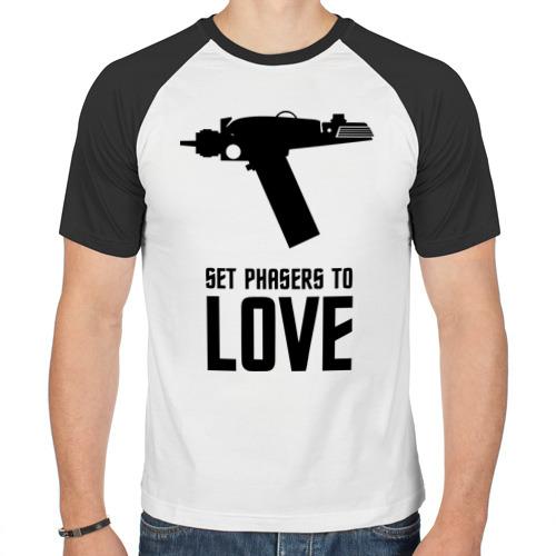 Мужская футболка реглан  Фото 01, Фазер любви
