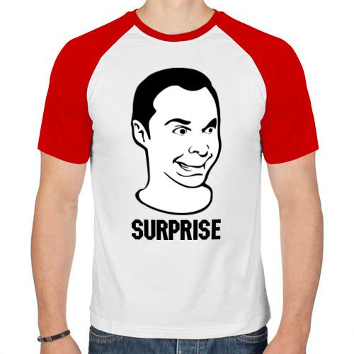 Мужская футболка реглан  Фото 01, surprise (Sheldon)