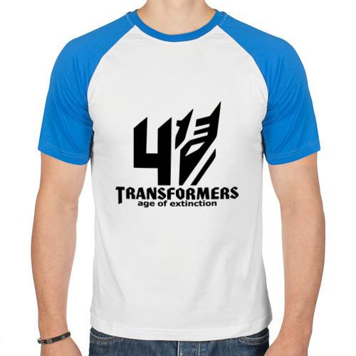 Мужская футболка реглан  Фото 01, Трансформеры 4