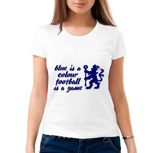 Женская футболка хлопок  Фото 03, Chelsea (Челси)