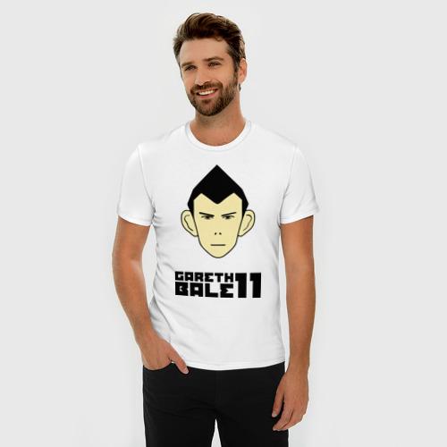 Мужская футболка премиум  Фото 03, Gareth Bale (карикатура)