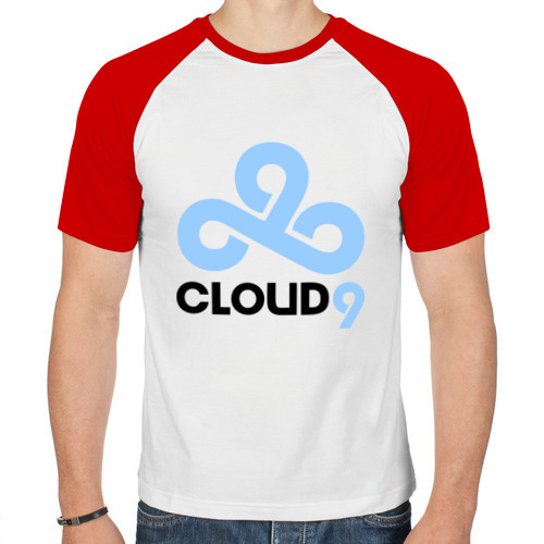 Мужская футболка реглан  Фото 01, Cloud 9 Dota2