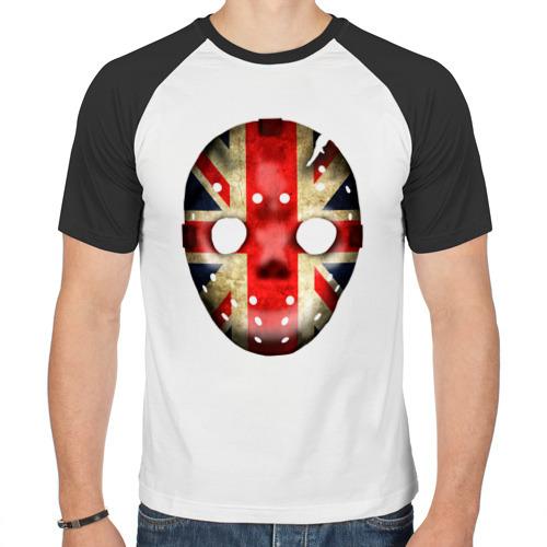 Мужская футболка реглан  Фото 01, Маска