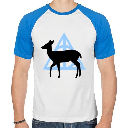 Мужская футболка реглан  Фото 01, Лань