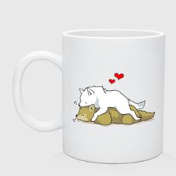 Волчья любовь - интернет магазин Futbolkaa.ru