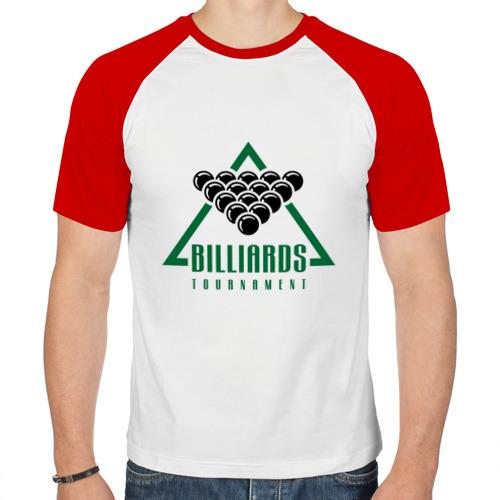 Мужская футболка реглан  Фото 01, Billiards tournament