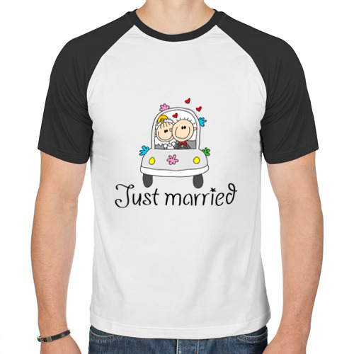 Мужская футболка реглан  Фото 01, Женатики