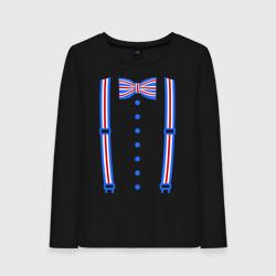 Галстук бабочка британский флаг