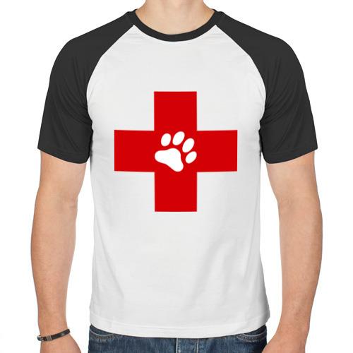 Мужская футболка реглан  Фото 01, Ветеринар