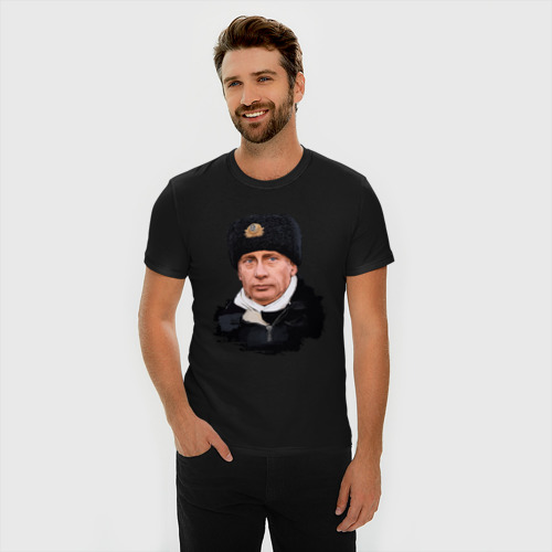 Мужская футболка премиум  Фото 03, Путин