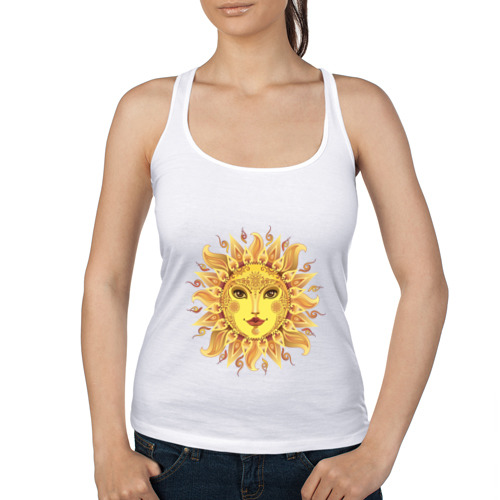 Женская майка борцовка  Фото 01, Солнце есть в каждом из нас