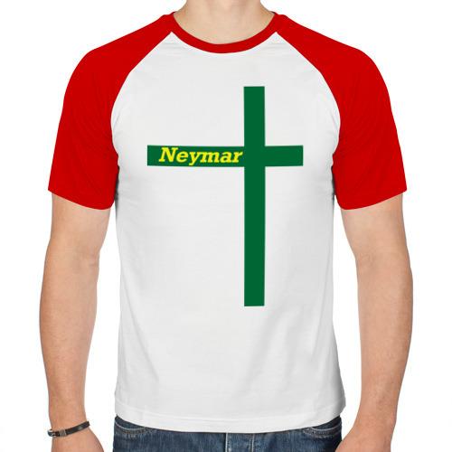 Мужская футболка реглан  Фото 01, Neymar