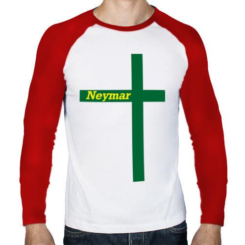 Мужской лонгслив реглан  Фото 01, Neymar