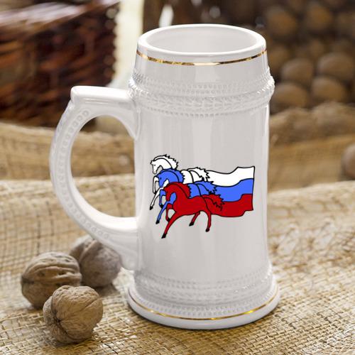 Кружка пивная  Фото 04, Сильная Россия