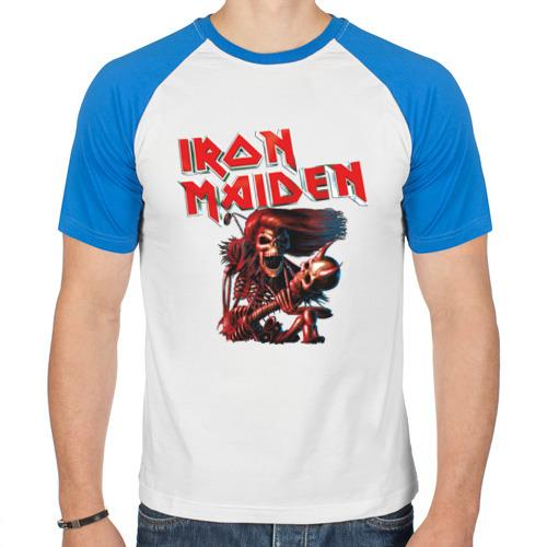 Мужская футболка реглан  Фото 01, Iron Maiden