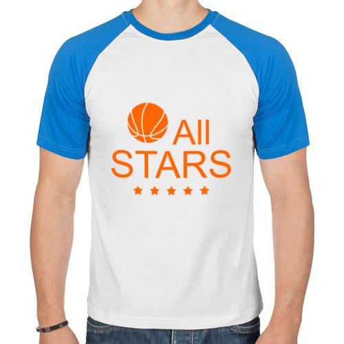 Мужская футболка реглан  Фото 01, All stars (баскетбол)