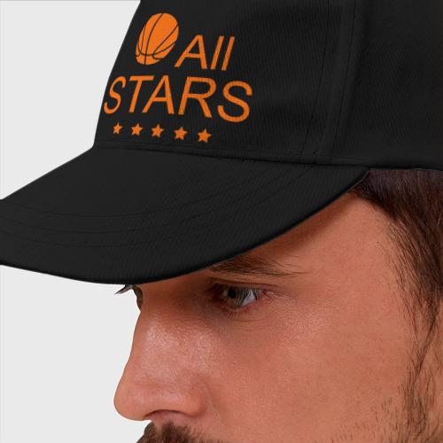Бейсболка All stars (баскетбол)