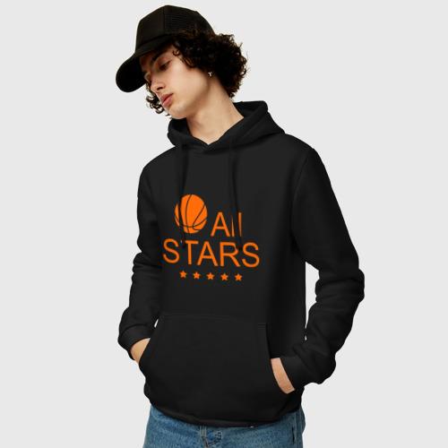 Мужская толстовка хлопок  Фото 03, All stars (баскетбол)