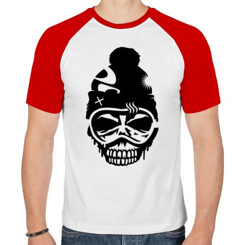Мужская футболка реглан  Фото 01, Зимний зомби