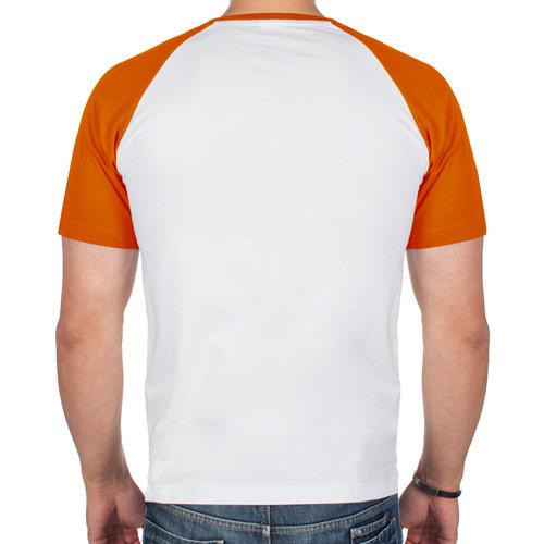 Мужская футболка реглан  Фото 02, Скелет мотоциклист