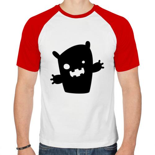Мужская футболка реглан  Фото 01, Маленький монстрик